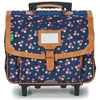 Τσάντες Κορίτσι Σχολικές τσάντες με ροδάκια Tann's ALEXA TROLLEY CARTABLE 38 CM Marine