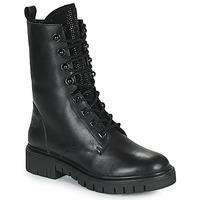 Παπούτσια Γυναίκα Μπότες Kaporal ZELIZA Black / Glitter