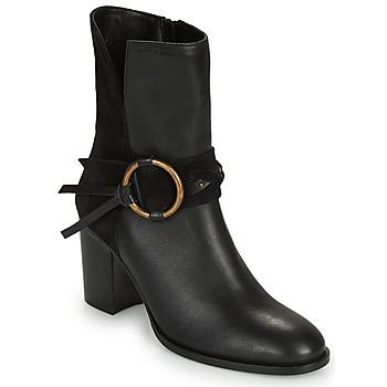 Παπούτσια Γυναίκα Μποτίνια Kaporal PERCY Black