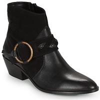 Παπούτσια Γυναίκα Μποτίνια Kaporal PEARL Black