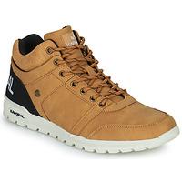 Παπούτσια Άνδρας Ψηλά Sneakers Kaporal DAWSON Camel / Black