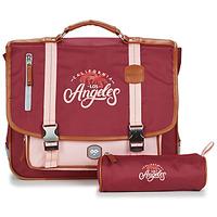 Τσάντες Κορίτσι Σάκα Ooban's FUNNY LOS ANGELES CARTABLE 38 CM Ροζ