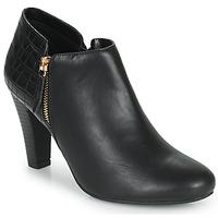 Παπούτσια Γυναίκα Χαμηλές Μπότες Moony Mood PERRINE Black