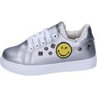 Παπούτσια Κορίτσι Χαμηλά Sneakers Smiley BJ987 Silver