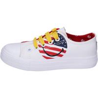 Παπούτσια Αγόρι Χαμηλά Sneakers Smiley BJ988 λευκό