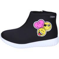Παπούτσια Κορίτσι Μποτίνια Smiley BJ989 Black