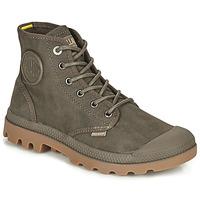 Παπούτσια Μπότες Palladium PAMPA CANVAS Brown