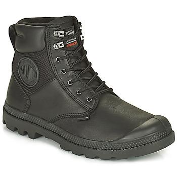 Παπούτσια Μπότες Palladium SPORTCUFF ESSENTIAL WATERPROOF Black