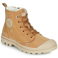 Παπούτσια Γυναίκα Μπότες Palladium PAMPA HI ZIP WL W Brown