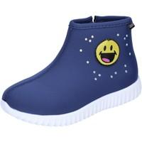 Παπούτσια Κορίτσι Μποτίνια Smiley BJ991 Μπλέ