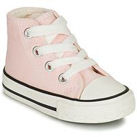 Παπούτσια Κορίτσι Ψηλά Sneakers Citrouille et Compagnie NEW 19 Ροζ