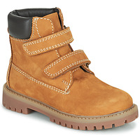 Παπούτσια Αγόρι Μπότες Citrouille et Compagnie PAXA Camel