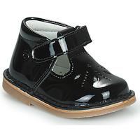 Παπούτσια Κορίτσι Μπαλαρίνες Citrouille et Compagnie OTALI Black / Vernis
