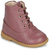 Παπούτσια Κορίτσι Μπότες Citrouille et Compagnie PUMBAE Ροζ