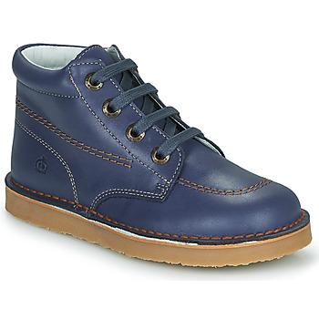 Παπούτσια Αγόρι Μπότες Citrouille et Compagnie PIMON Marine