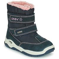 Παπούτσια Αγόρι Snow boots Citrouille et Compagnie POUDOU Μπλέ / Ροζ