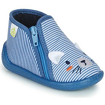 Παπούτσια Αγόρι Παντόφλες Citrouille et Compagnie PASTA Μπλέ