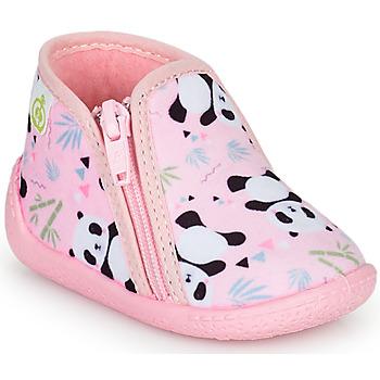 Παπούτσια Κορίτσι Παντόφλες Citrouille et Compagnie PIFOU Ροζ