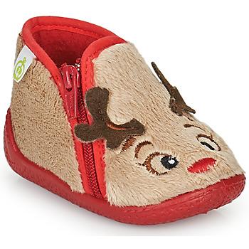 Παπούτσια Παιδί Παντόφλες Citrouille et Compagnie PARFALLE Beige