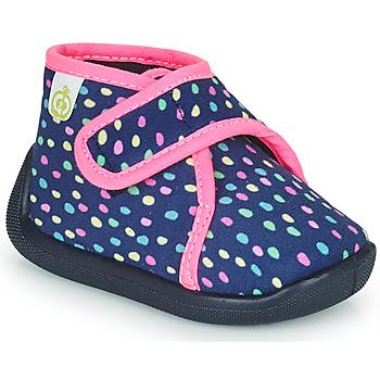 Παπούτσια Κορίτσι Παντόφλες Citrouille et Compagnie PASTACARBO Marine