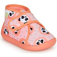 Παπούτσια Κορίτσι Παντόφλες Citrouille et Compagnie PASTACARBO Saumon