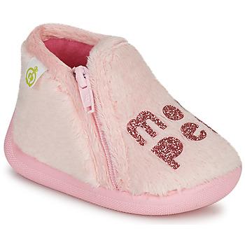 Παπούτσια Κορίτσι Παντόφλες Citrouille et Compagnie PRADS Ροζ