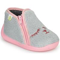 Παπούτσια Κορίτσι Παντόφλες Citrouille et Compagnie PRADS Grey