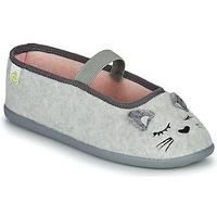 Παπούτσια Κορίτσι Παντόφλες Citrouille et Compagnie PASTALDENTE Grey / Ροζ