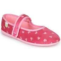 Παπούτσια Κορίτσι Παντόφλες Citrouille et Compagnie PIWOINE Fushia