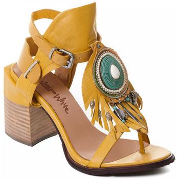 Παπούτσια Γυναίκα Γόβες Rebecca White T0509 |Rebecca White| D??msk?? sand??ly na vysok??m podpatku z okrov??