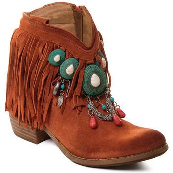 Παπούτσια Γυναίκα Μποτίνια Rebecca White T0601B |Rebecca White| D??msk?? ko?en?? kotn??kov?? boty s kor??lovou k