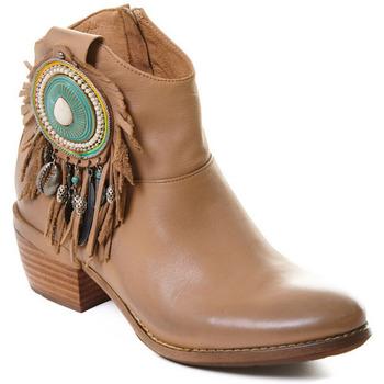 Παπούτσια Γυναίκα Μποτίνια Rebecca White T0605 |Rebecca White| D??msk?? ko?en?? kotn??kov?? boty s blokov?m pod