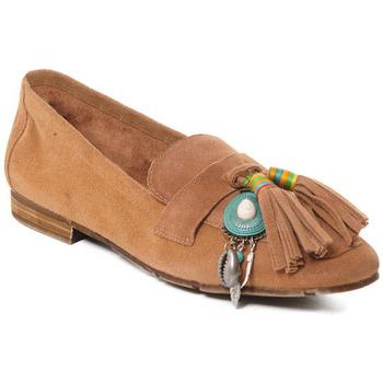 Παπούτσια Γυναίκα Μοκασσίνια Rebecca White T3506 Beige