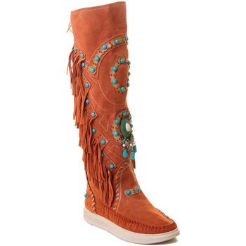 Παπούτσια Γυναίκα Μπότες Rebecca White T6012 Red