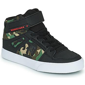 Παπούτσια Αγόρι Ψηλά Sneakers DC Shoes PURE HIGH-TOP EV Black / Camouflage