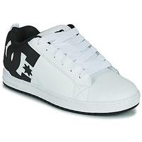 Παπούτσια Άνδρας Skate Παπούτσια DC Shoes COURT GRAFFIK Άσπρο / Black