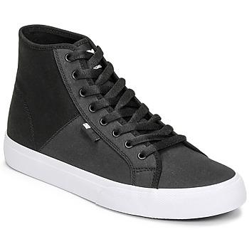 Παπούτσια Άνδρας Ψηλά Sneakers DC Shoes MANUAL HI TXSE Black / Άσπρο