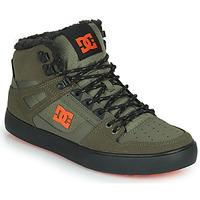 Παπούτσια Άνδρας Ψηλά Sneakers DC Shoes PURE HIGH-TOP WC WNT Kaki / Black