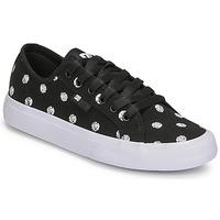 Παπούτσια Γυναίκα Χαμηλά Sneakers DC Shoes MANUAL TXSE Black / Άσπρο