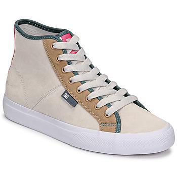 Παπούτσια Γυναίκα Ψηλά Sneakers DC Shoes MANUAL HI SE Beige