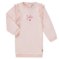 Υφασμάτινα Κορίτσι Κοντά Φορέματα Carrément Beau ABRICOT Ροζ
