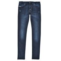 Υφασμάτινα Αγόρι Skinny jeans Diesel SLEENKER Μπλέ / Fonce