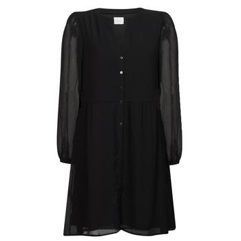 Υφασμάτινα Γυναίκα Κοντά Φορέματα Vila VIAMIONE Black