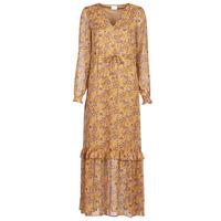 Υφασμάτινα Γυναίκα Μακριά Φορέματα Vila VIFALIA Cognac