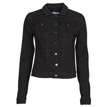 Υφασμάτινα Γυναίκα Τζιν Μπουφάν/Jacket  Vila VISHOW Black