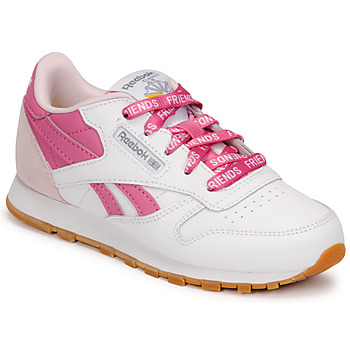 Xαμηλά Sneakers Reebok Classic CL LTHR ΣΤΕΛΕΧΟΣ: Δέρμα και συνθετικό & ΕΠΕΝΔΥΣΗ: Ύφασμα & ΕΣ. ΣΟΛΑ: Ύφασμα & ΕΞ. ΣΟΛΑ: Καουτσούκ