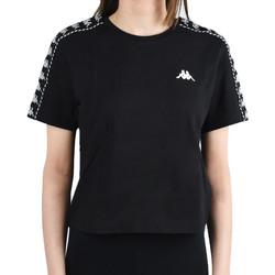 Υφασμάτινα Γυναίκα T-shirt με κοντά μανίκια Kappa Inula T-Shirt Noir