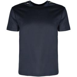 Υφασμάτινα Άνδρας T-shirt με κοντά μανίκια Les Hommes  Μπλέ