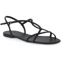 Παπούτσια Γυναίκα Σανδάλια / Πέδιλα Miss Unique UNIQUE   PRETO CALF Nero