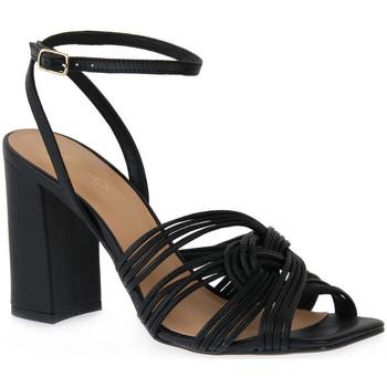 Παπούτσια Γυναίκα Σανδάλια / Πέδιλα Miss Unique UNIQUE   PRETO SMOOTHIE Nero